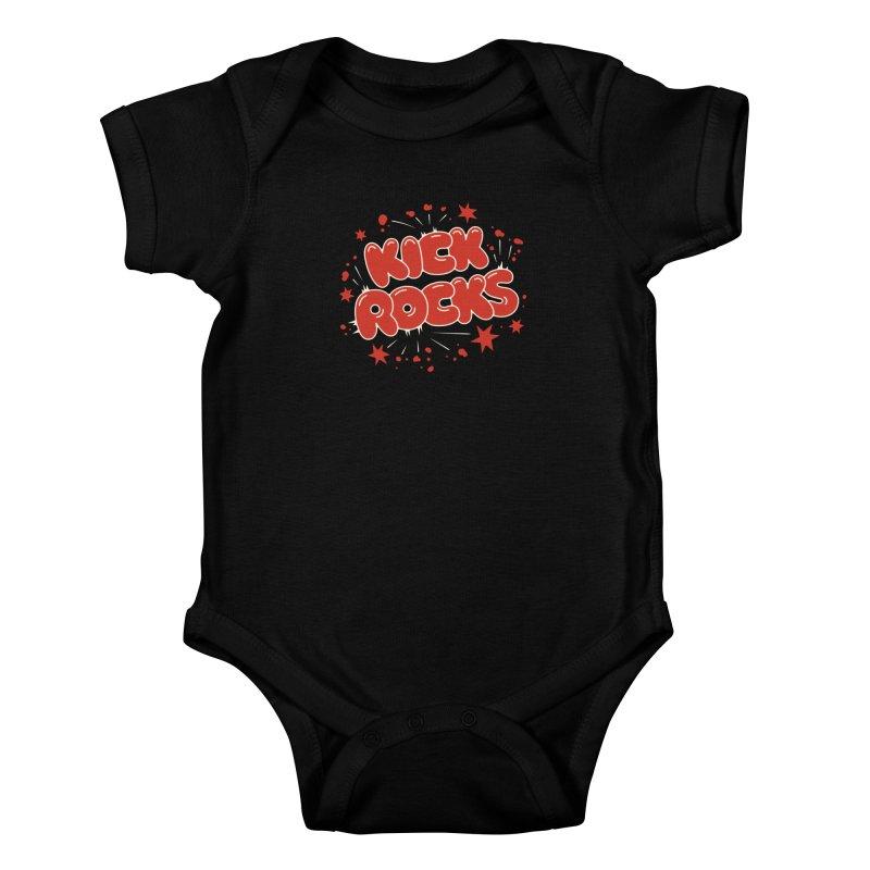 Kick Rocks Kids Baby Bodysuit by Cody Weiler