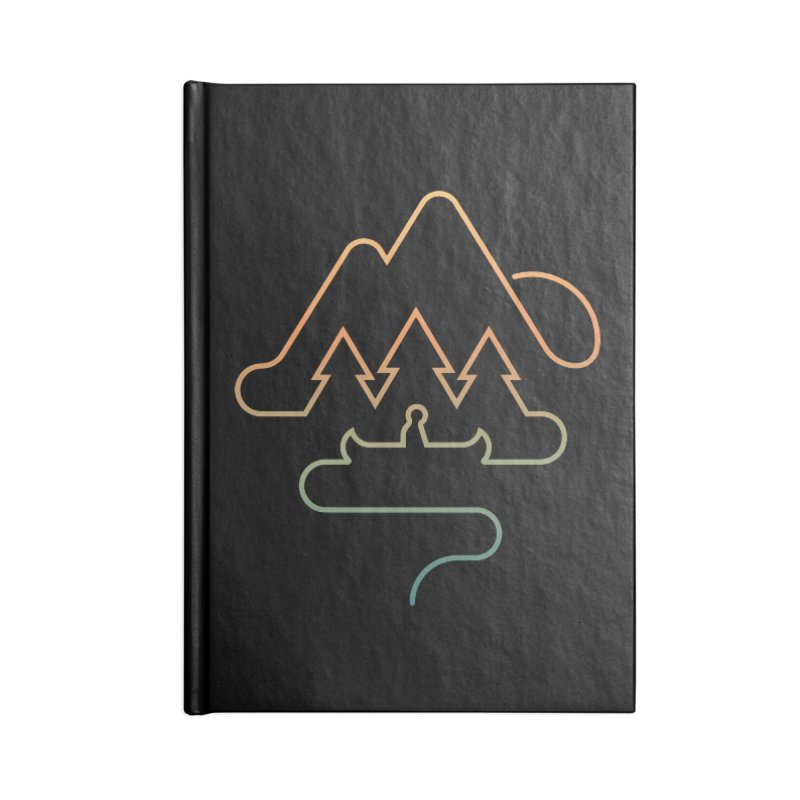Treeline Accessories Lined Journal Notebook by Cody Weiler