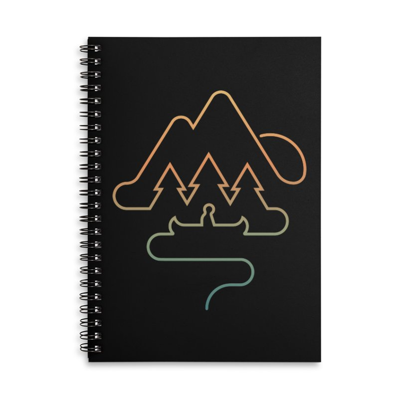 Treeline Accessories Lined Spiral Notebook by Cody Weiler