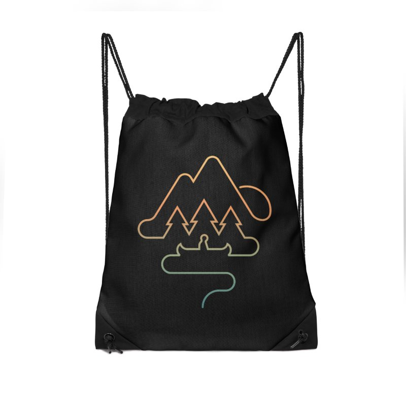 Treeline Accessories Drawstring Bag Bag by Cody Weiler