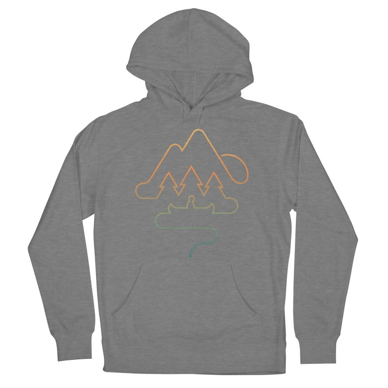 Treeline Women's French Terry Pullover Hoody by Cody Weiler