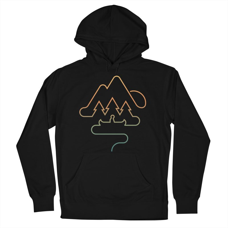 Treeline Men's French Terry Pullover Hoody by Cody Weiler