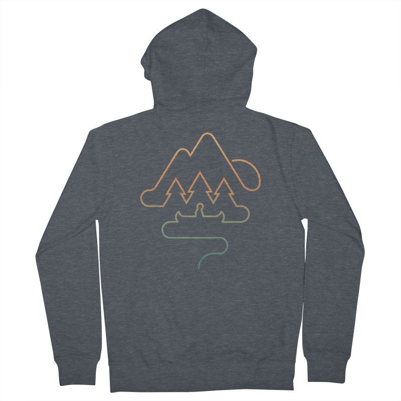 Treeline Men's French Terry Zip-Up Hoody by Cody Weiler
