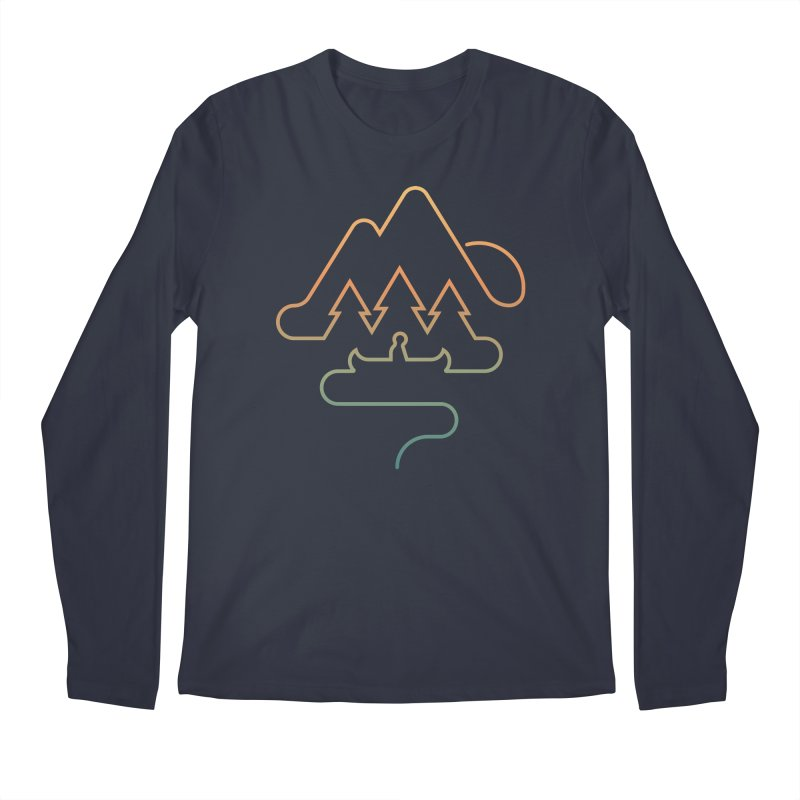 Treeline Men's Regular Longsleeve T-Shirt by Cody Weiler
