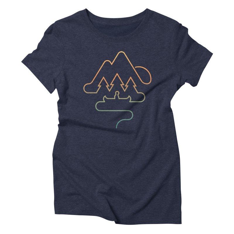 Treeline Women's T-Shirt by Cody Weiler