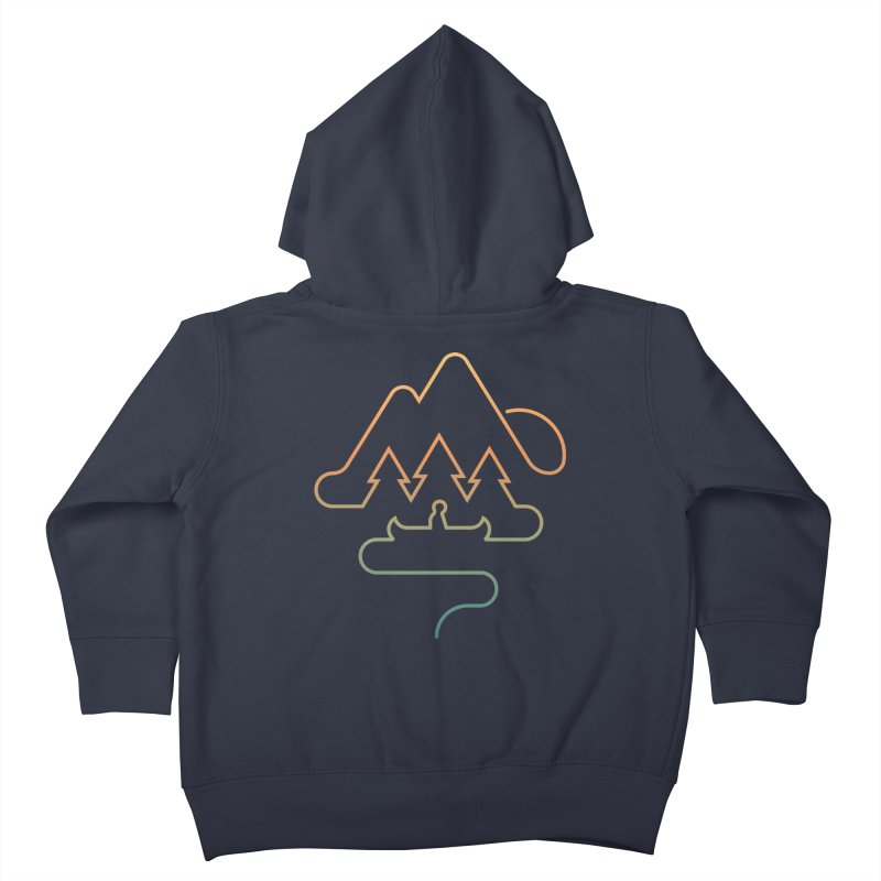 Treeline Kids Toddler Zip-Up Hoody by Cody Weiler
