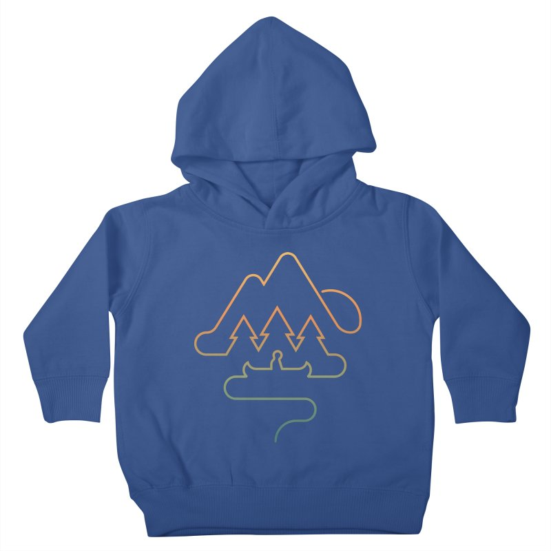 Treeline Kids Toddler Pullover Hoody by Cody Weiler