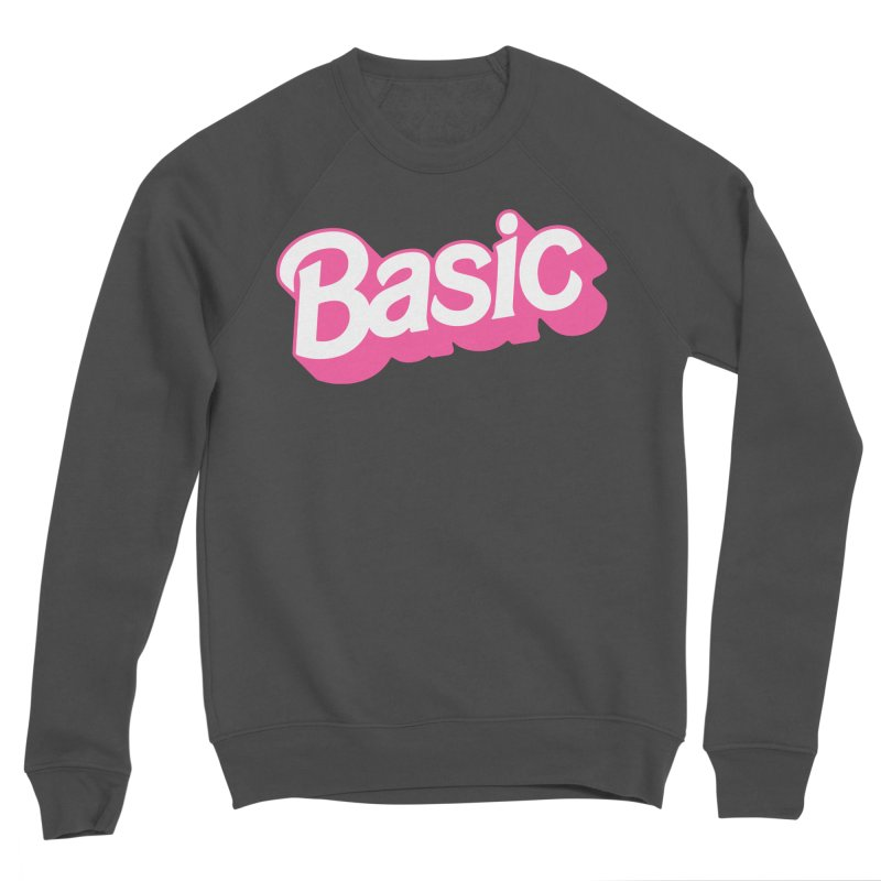 Basic Men's Sponge Fleece Sweatshirt by Cody Weiler