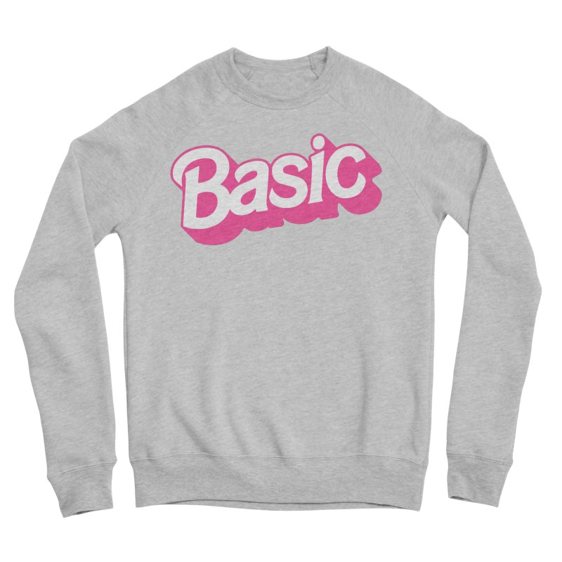 Basic Women's Sponge Fleece Sweatshirt by Cody Weiler