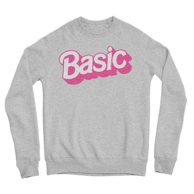 Basic Men's Sponge Fleece Sweatshirt by Cody Weiler