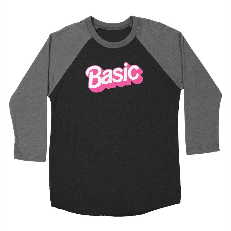 Basic Men's Baseball Triblend Longsleeve T-Shirt by Cody Weiler