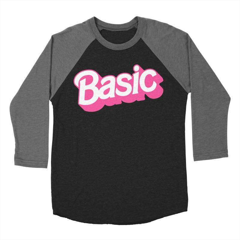 Basic Women's Baseball Triblend Longsleeve T-Shirt by Cody Weiler