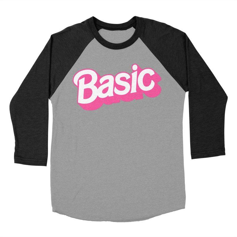 Basic Women's Baseball Triblend Longsleeve T-Shirt by Cody Weiler