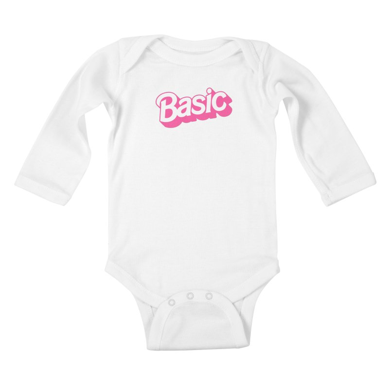 Basic Kids Baby Longsleeve Bodysuit by Cody Weiler