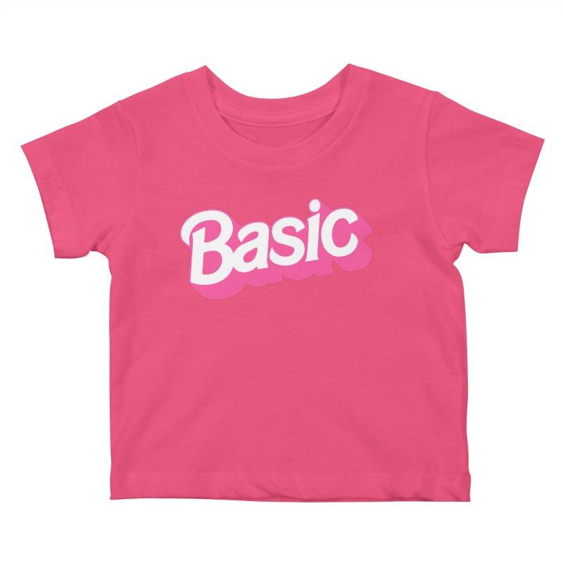 Basic Kids Baby T-Shirt by Cody Weiler