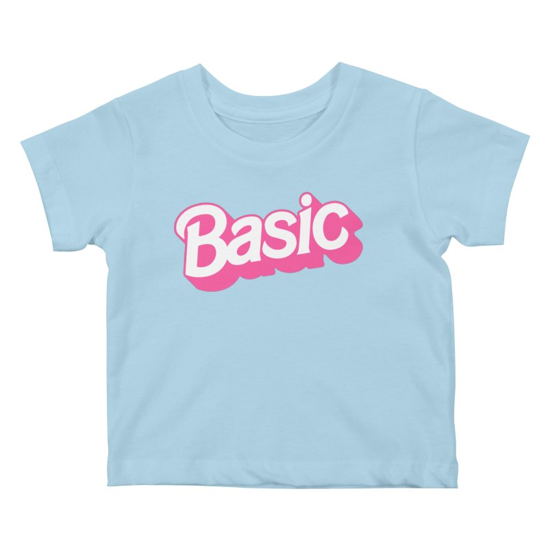 Basic Kids Baby T-Shirt by Cody Weiler