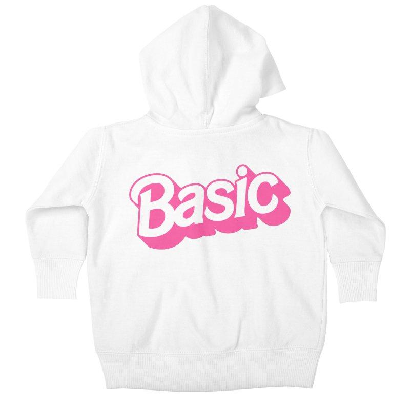 Basic Kids Baby Zip-Up Hoody by Cody Weiler