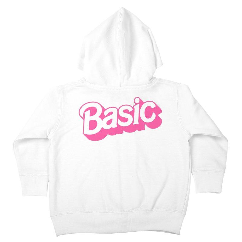 Basic Kids Toddler Zip-Up Hoody by Cody Weiler