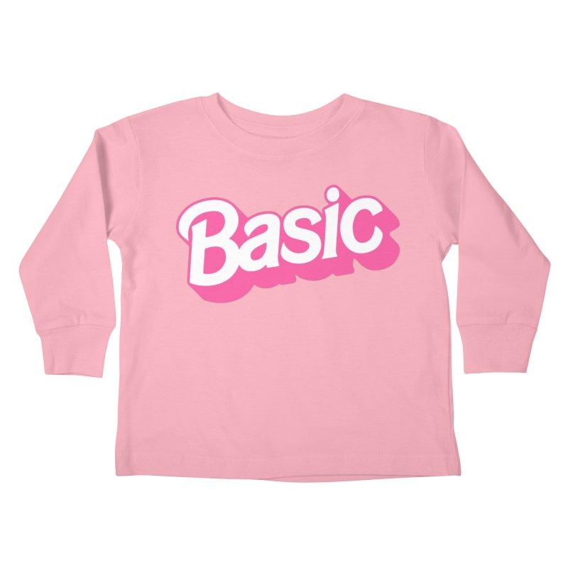 Basic Kids Toddler Longsleeve T-Shirt by Cody Weiler