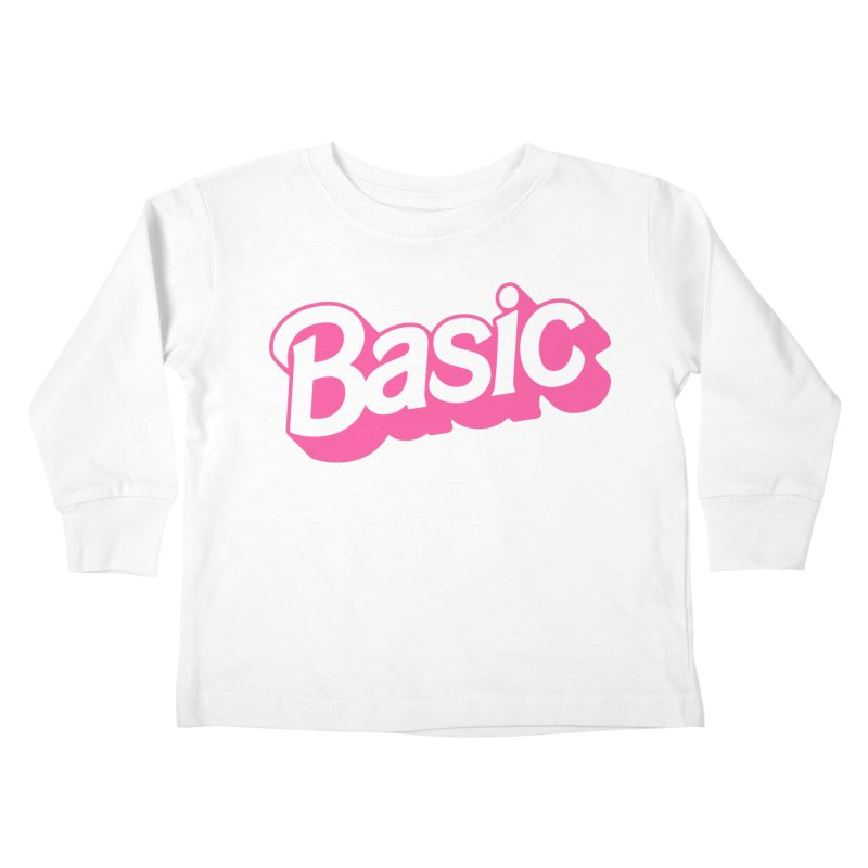 Basic Kids Toddler Longsleeve T-Shirt by Cody Weiler