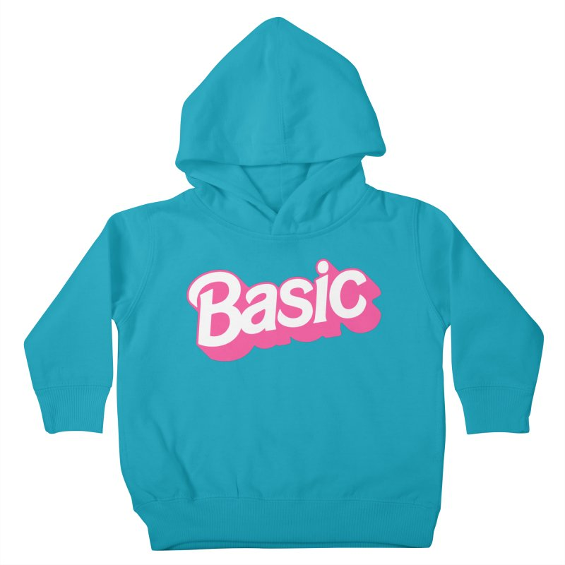 Basic Kids Toddler Pullover Hoody by Cody Weiler