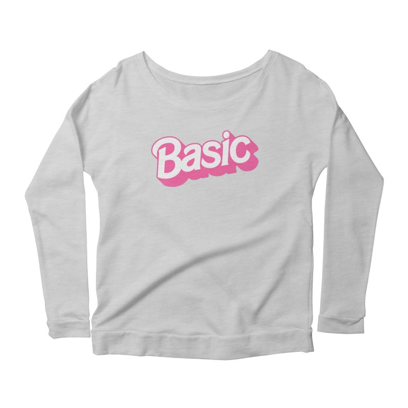Basic Women's Scoop Neck Longsleeve T-Shirt by Cody Weiler