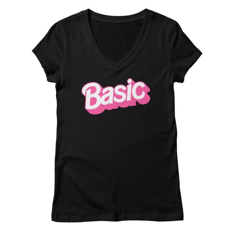 Basic Women's Regular V-Neck by Cody Weiler