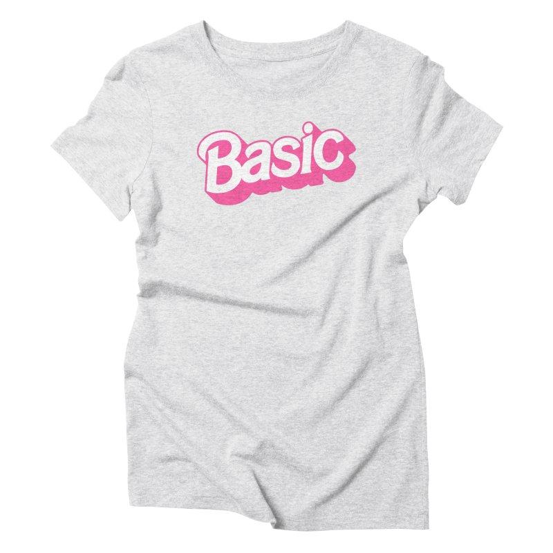 Basic Women's Triblend T-Shirt by Cody Weiler