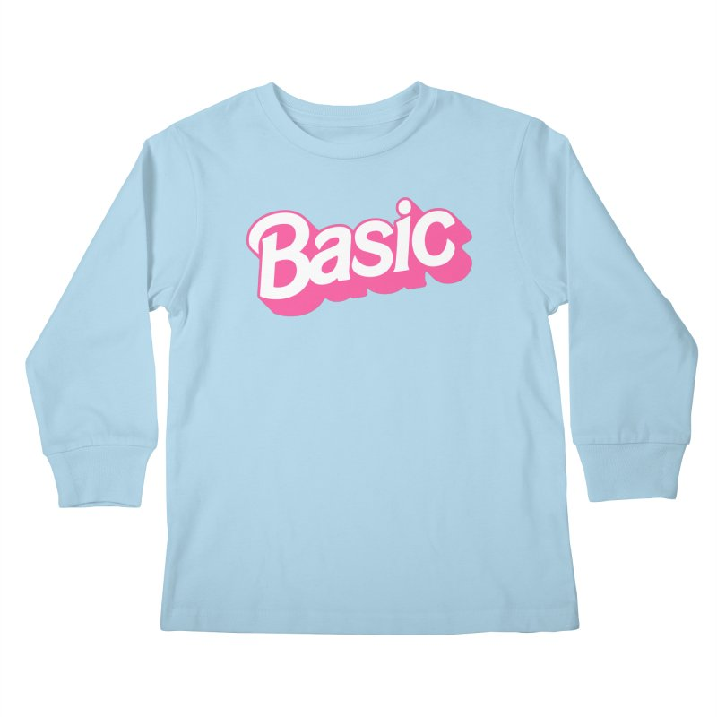 Basic Kids Longsleeve T-Shirt by Cody Weiler