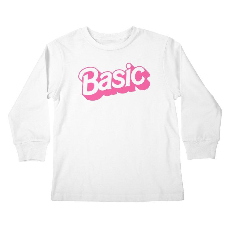 Basic Kids Longsleeve T-Shirt by Cody Weiler