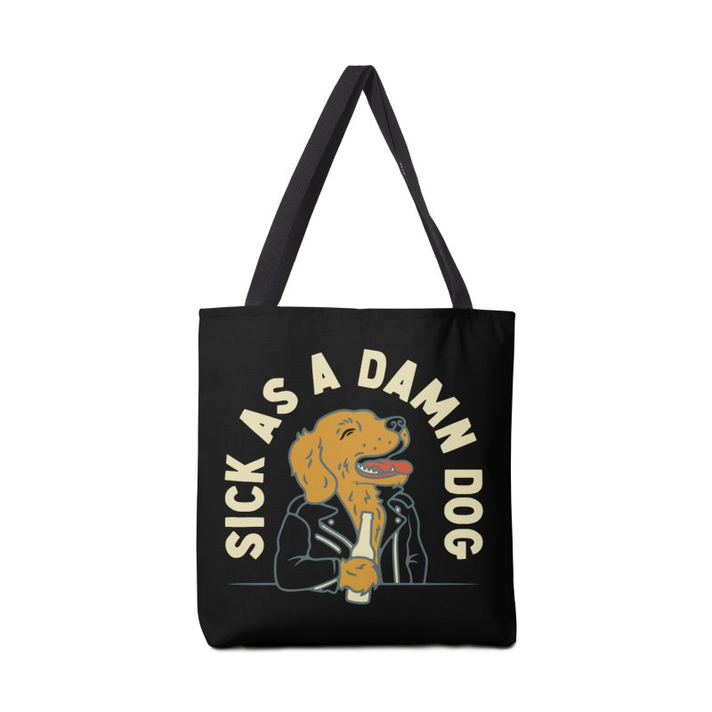Sick, dog. Accessories Bag by Cody Weiler