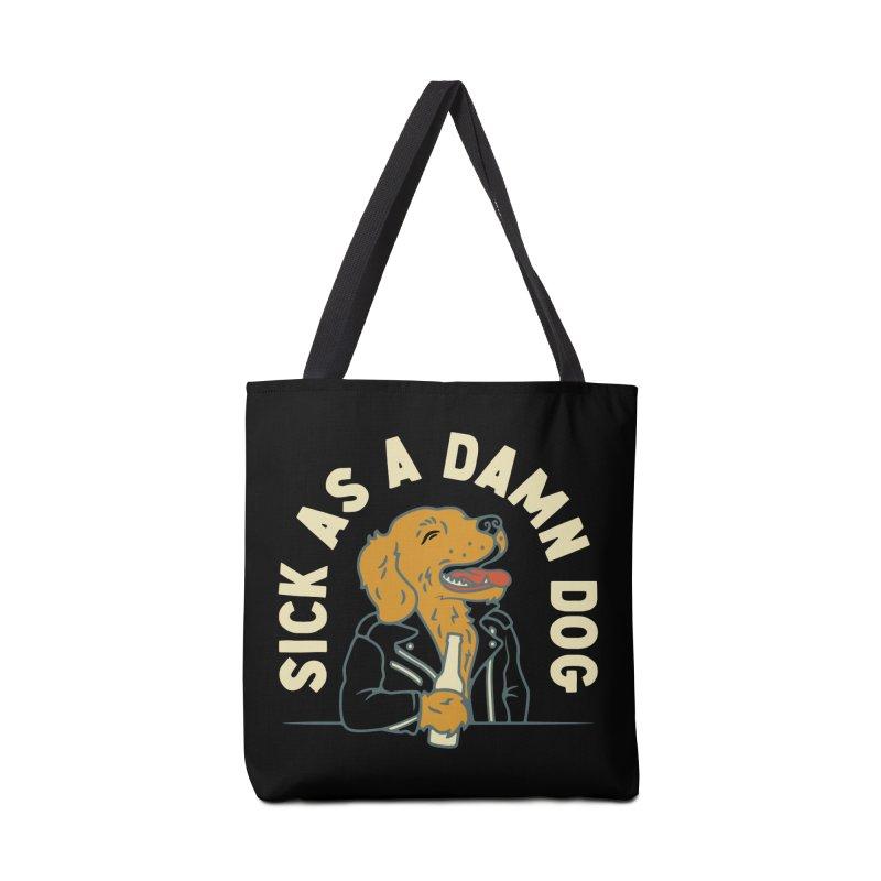 Sick, dog. Accessories Bag by Cody Weiler