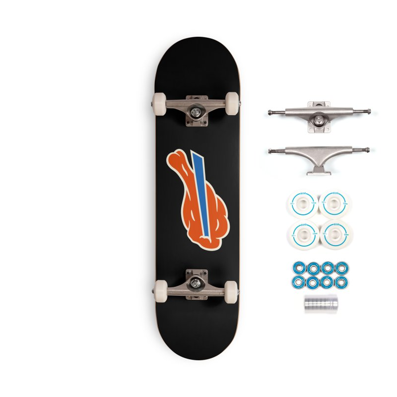 Buffalo Wing and a Prayer Accessories Complete - Basic Skateboard by Cody Weiler