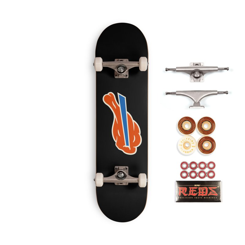 Buffalo Wing and a Prayer Accessories Skateboard by Cody Weiler