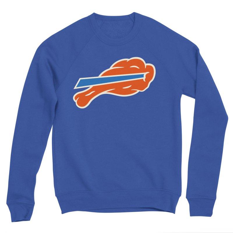 Buffalo Wing and a Prayer Men's Sponge Fleece Sweatshirt by Cody Weiler