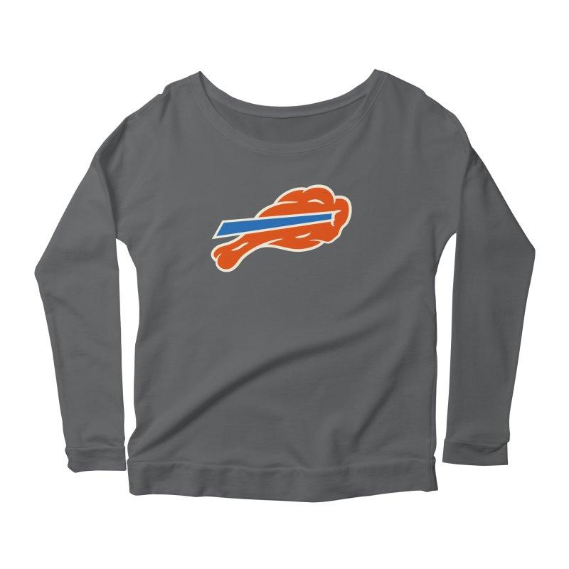 Buffalo Wing and a Prayer Women's Longsleeve T-Shirt by Cody Weiler