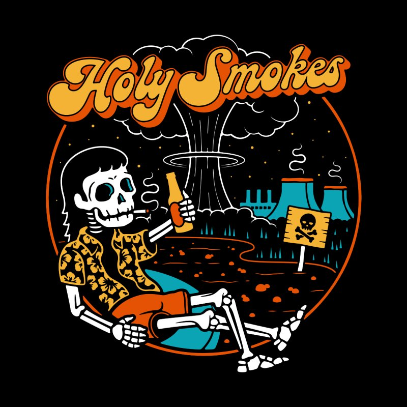Holy Smokes Tapestry by Cody Weiler