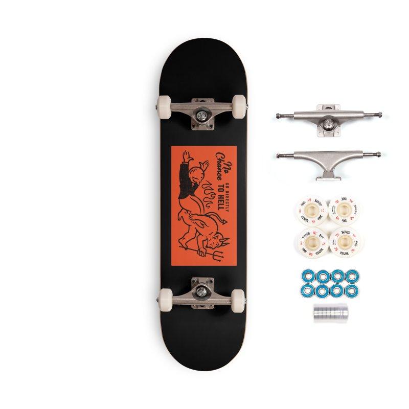 No Chance Accessories Complete - Premium Skateboard by Cody Weiler