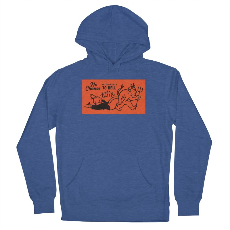 No Chance Men's French Terry Pullover Hoody by Cody Weiler