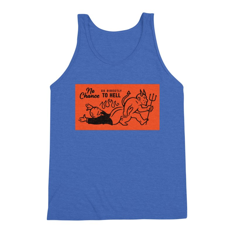 No Chance Men's Triblend Tank by Cody Weiler
