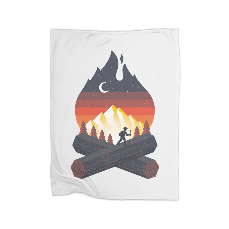 Wildfire Home Blanket by Cody Weiler