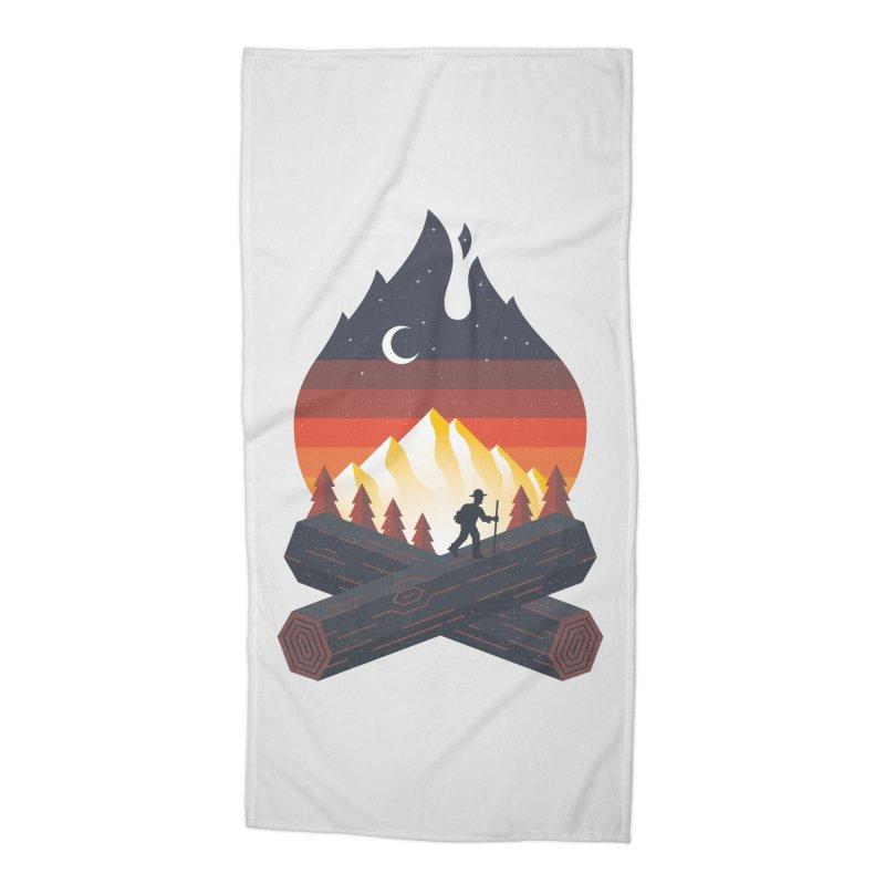 Wildfire Accessories Beach Towel by Cody Weiler