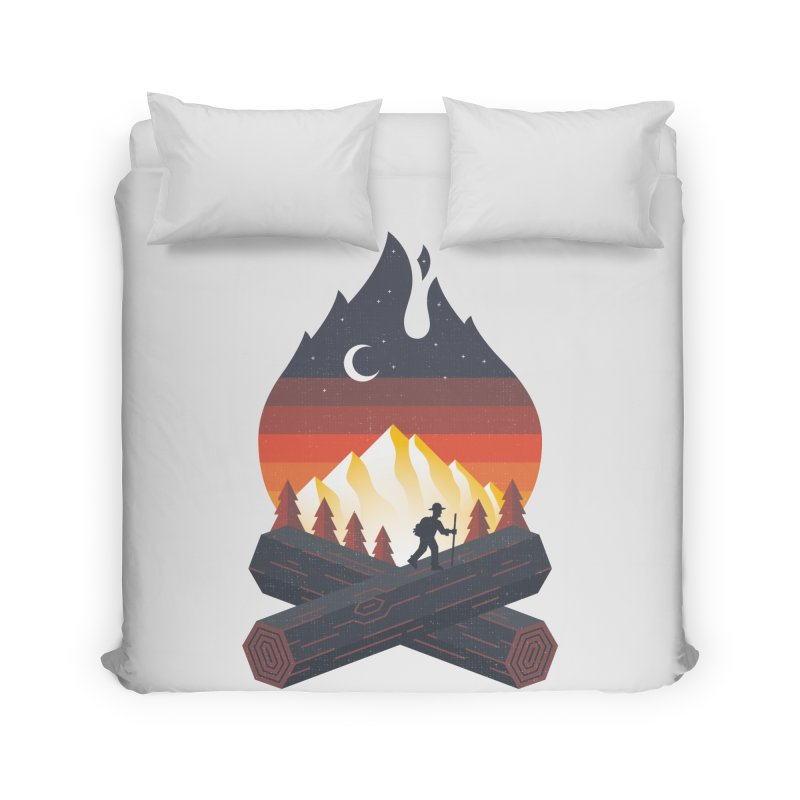 Wildfire Home Duvet by Cody Weiler