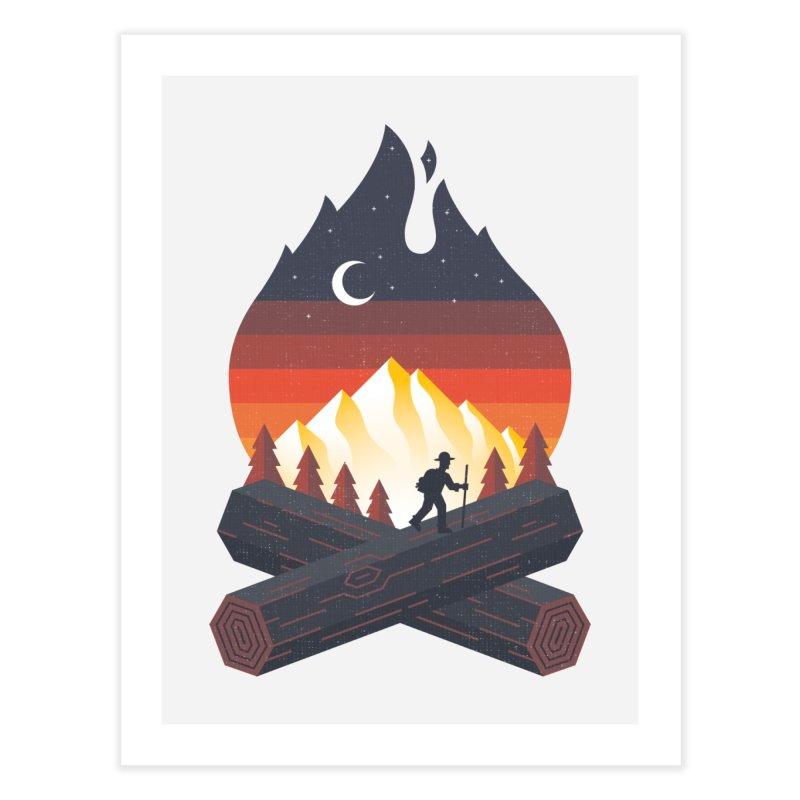 Wildfire Home Fine Art Print by Cody Weiler