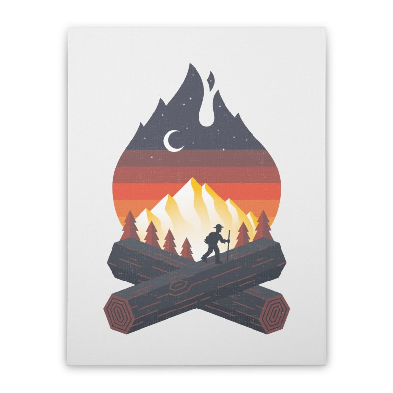 Wildfire Home Stretched Canvas by Cody Weiler