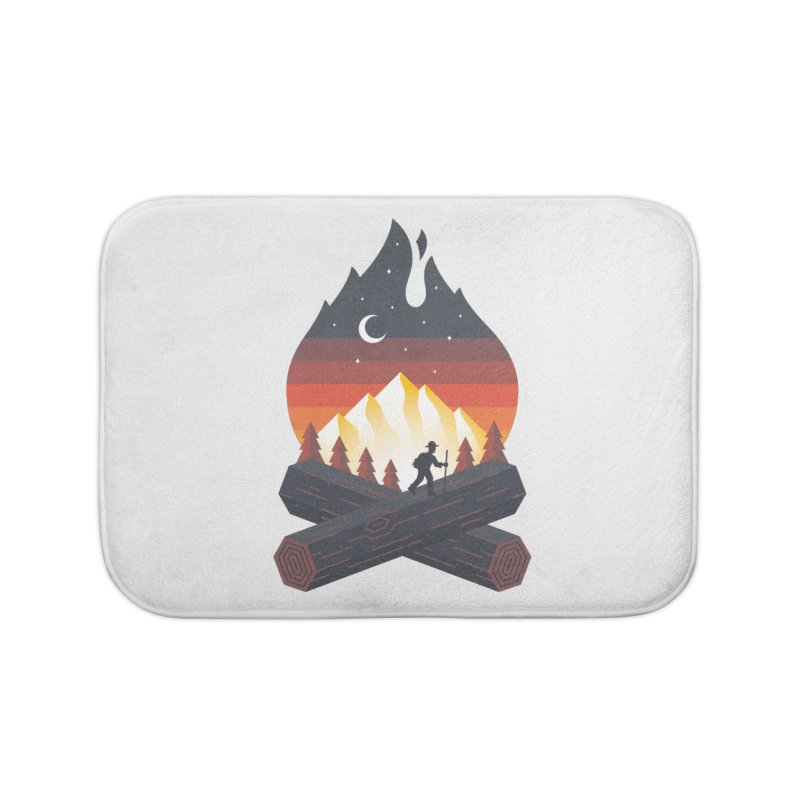Wildfire Home Bath Mat by Cody Weiler