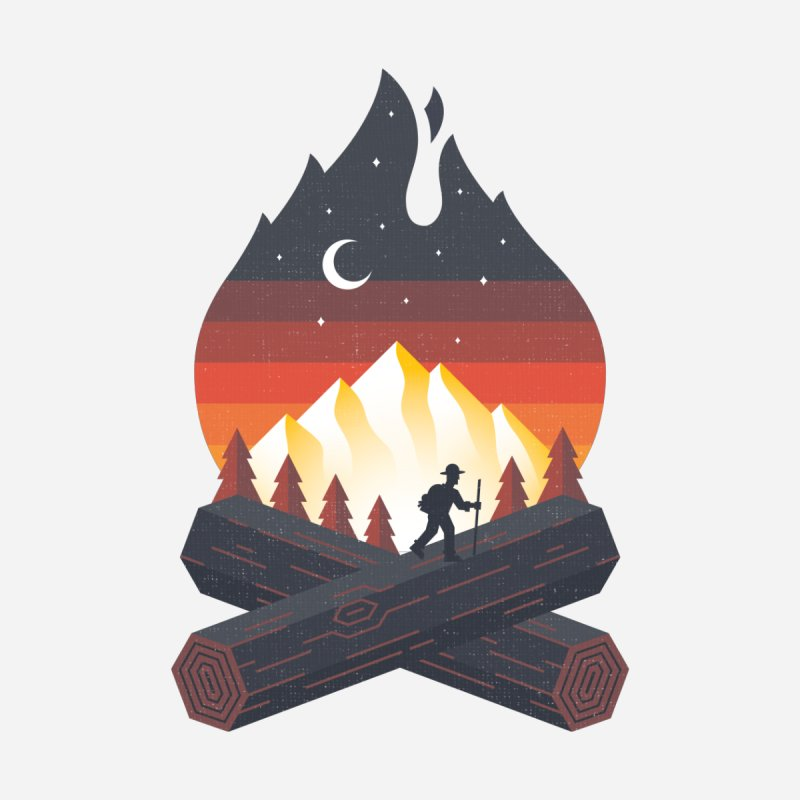 Wildfire Home Tapestry by Cody Weiler