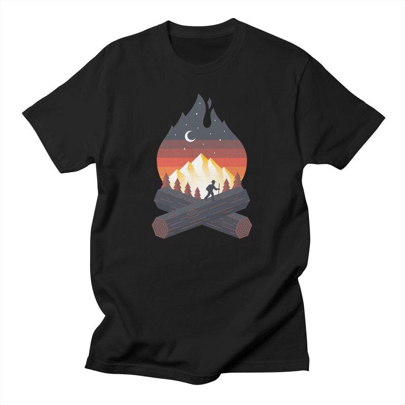 Wildfire Men's T-Shirt by Cody Weiler