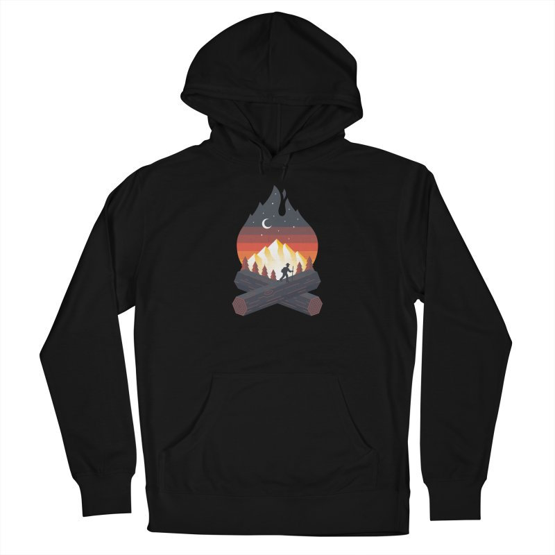Wildfire Men's Pullover Hoody by Cody Weiler