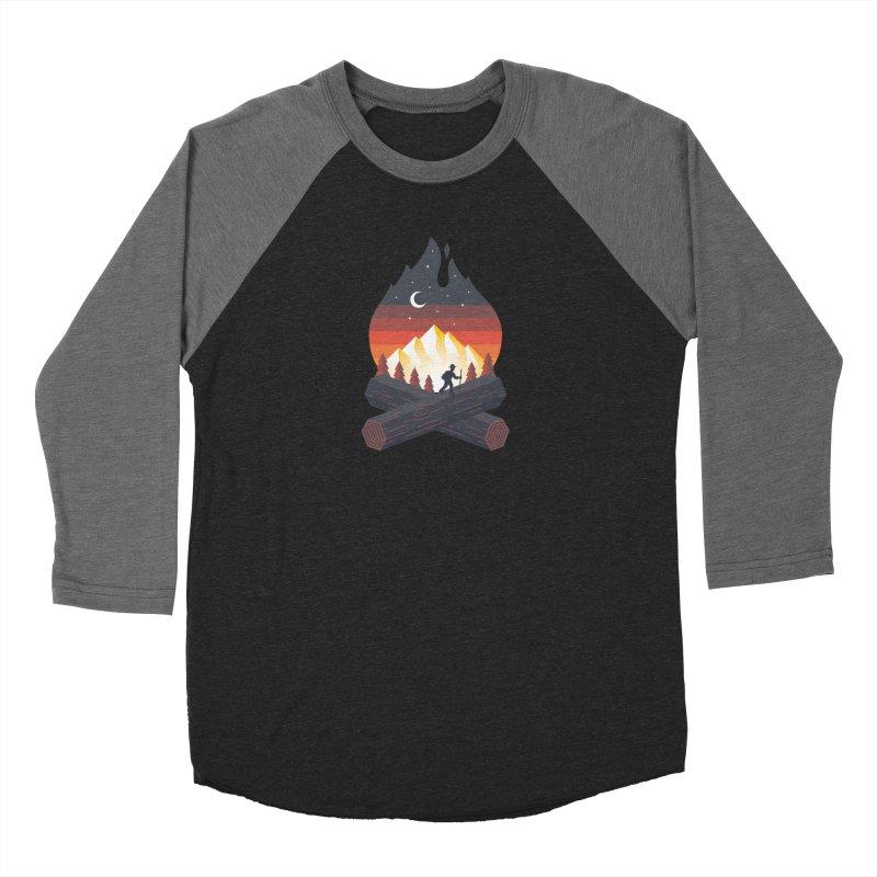 Wildfire Men's Longsleeve T-Shirt by Cody Weiler